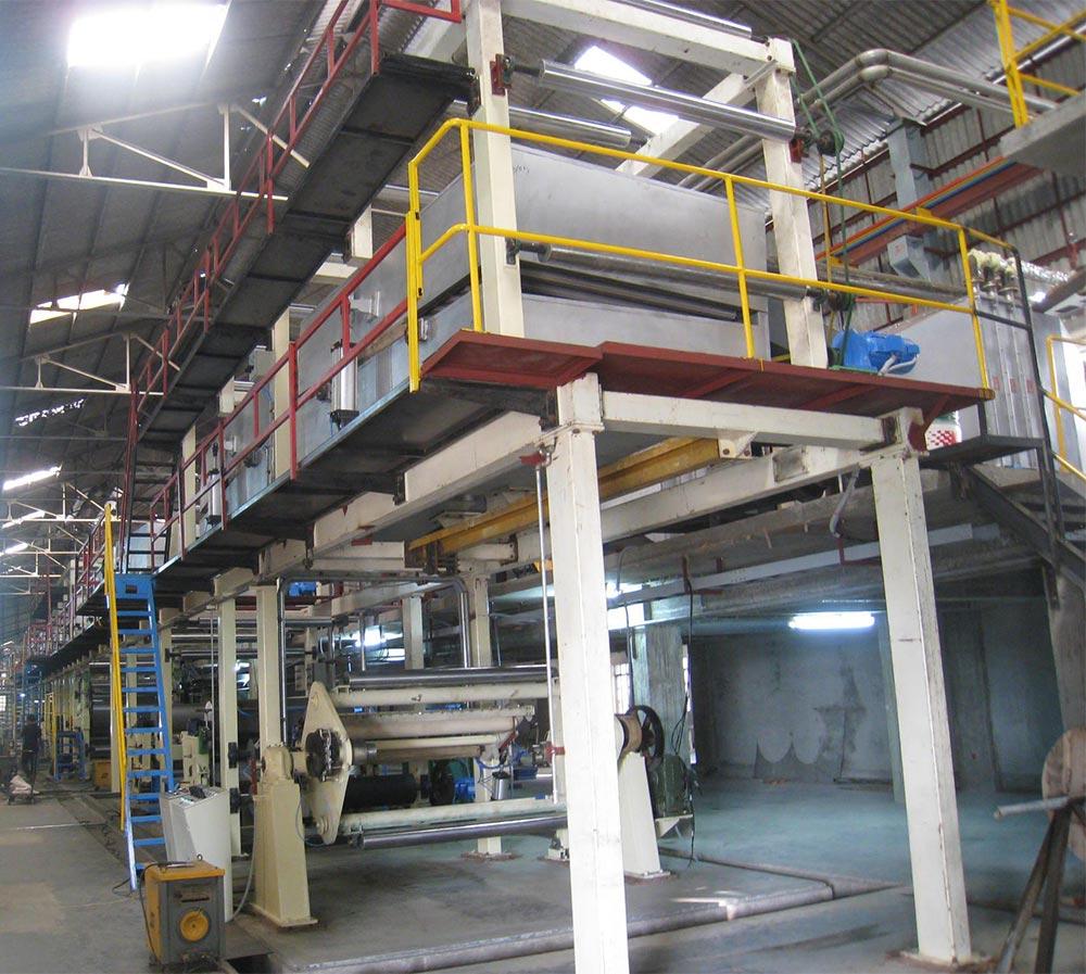 carbonless paper coating line