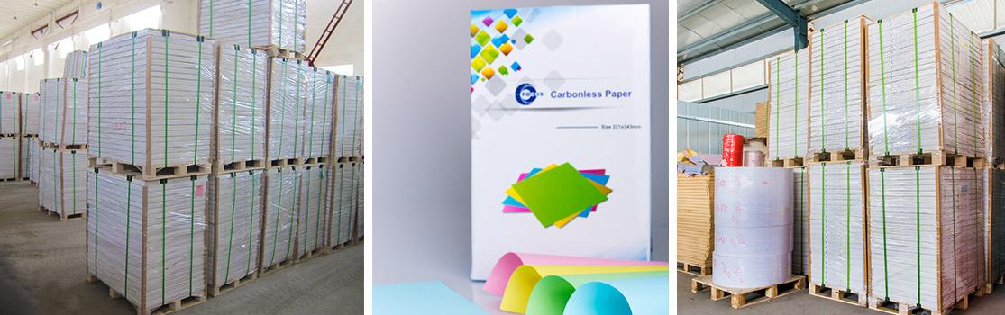 Focus Brand Carbonless Paper Sheet